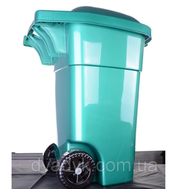 Бак мусорный 60л на колесах - Хаус-пласт в Черкассах