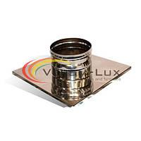 Окончание из нержавеющей стали Versia-Lux гильзованного кирпичного дымохода