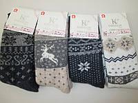 Турецкие носки из шерсти на зиму., фото 1