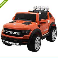 Детский двухместный электромобиль M 3579EBLR-7 оранжевый  ***