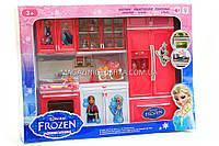 Кухня детская для кукол «Холодное сердце» (свет, звук) QF26210FR