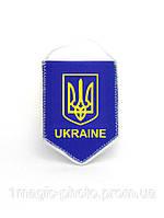 Вымпел автомобильный флаг и герб Украины