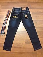 Детская одежда оптом Джинсы бренд для мальчиков оптом р.8-12лет