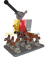 Вимикач-роз'єднувач ПЦ-6 630А центральний привід олово