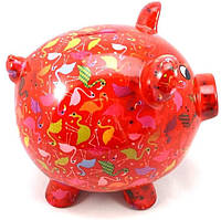 Копилка Свинка XL - Big Peggy A керамическая handmade ручная работа оригинальный подарок