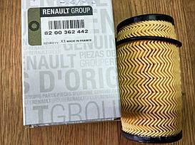 Фільтр масляний Renault Trafic, Opel Vivaro, 2.0-2.5 dci, 2006-2013 Renault 8200362442