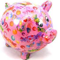 Копилка Свинка XL - Big Peggy D керамическая handmade ручная работа оригинальный подарок