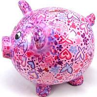 Копилка Свинка XL - Big Peggy C керамическая handmade ручная работа оригинальный подарок