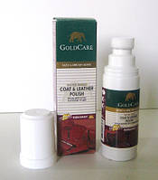 Краска для изделий из гладкой кожи Gold Care (бордо)