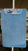 Набор ковриков для ванной комнаты (2 шт.)