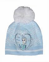 Шапочка зимняя на флисе для девочки