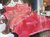 Постельное белье атлас с жакардом