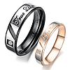 """Парные кольца """"Хранители мечты"""", в наличии жен. 15.7, 17.3, 18, 19, муж. 18, 19, 20"""