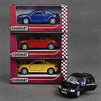 Машина KINSMART KT 5016 W (96/4) инер-я, 1:32 Audi TT Coupe, 4 цвета, открыв.двери, в кор-ке