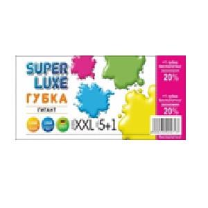 Губка кухонная ТМ Super Luxe  5+1 шт Гигант (XXL)