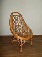 Овал плетенное кресло ЧФЛИ 730х830х1100 мм