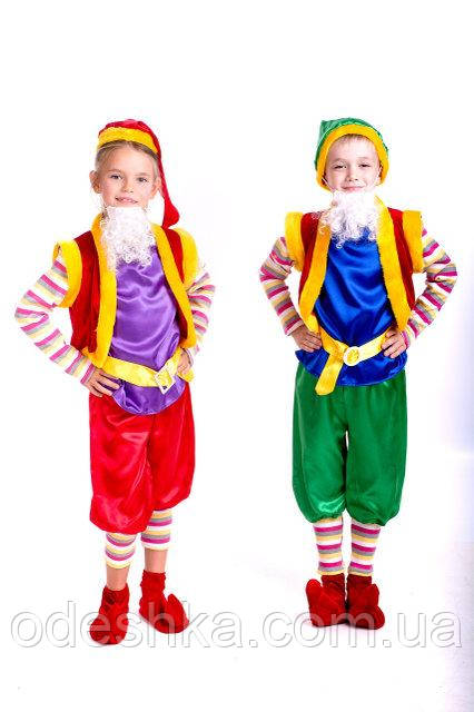 Дитячий карнавальний костюм Лісового гнома