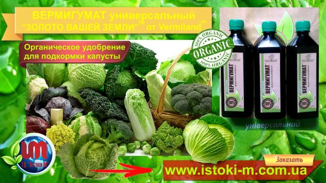 органическое удобрение для капусты