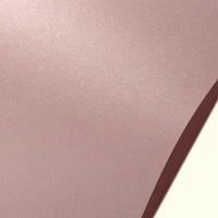 Дизайнерский картон (св.розовый перламутровый)25Х35