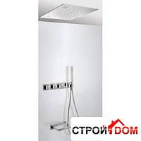 Встраиваемая система для ванны с термостатом, и подсветкой для хромотерапии Tres Tresmostatic 207.253.07 Хром