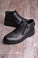 Ботинки черного цвета в классическом стиле