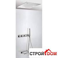 Встраиваемая система для ванны с термостатом, и подсветкой для хромотерапии Tres Tresmostatic 207.353.07 Хром
