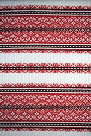 Ткань с украинским орнаментом Ампир