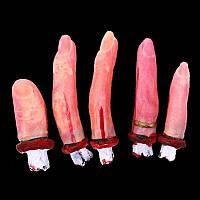 Оторванные пальци кровавые, декор на хэллоуин
