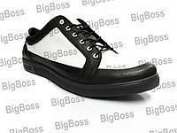 Кроссовки больших размеров К-12 ч.б.