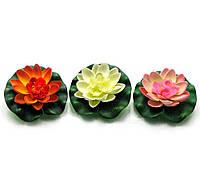 Цветок лотоса плавающий (14 см) (851B)
