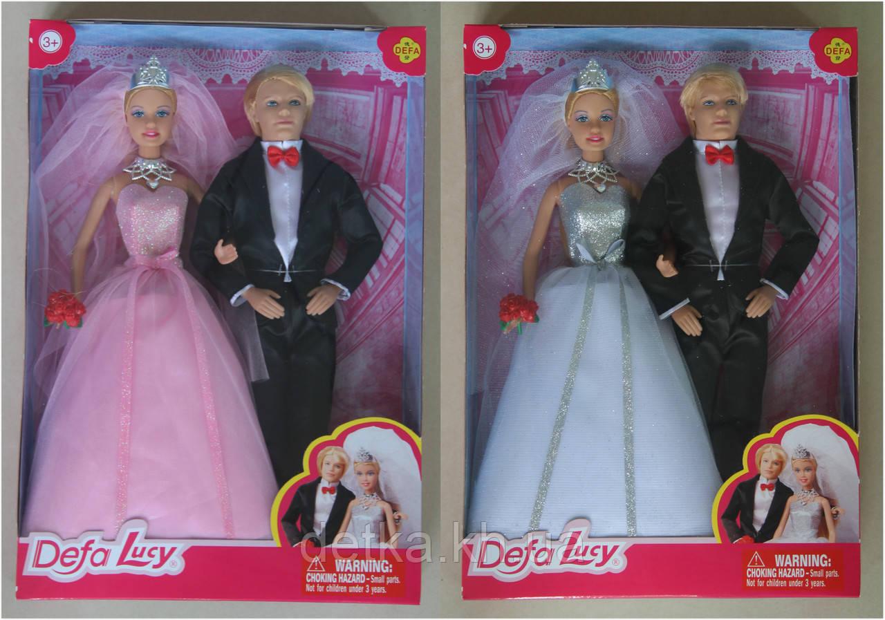 Лялька DEFA 29см 8305 наречена з нареченим