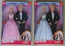 Кукла DEFA 29см 8305 невеста с женихом