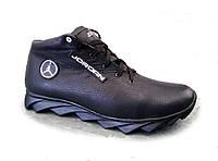 Ботинки  мужские  зимние кожаные  Ж21