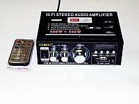 Усилитель UKC-699D c USB SD FM Караоке 2x300 Вт