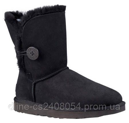 UGG Baby Bailey Button Черные