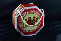 Сладкий новогодний подарок из конфет Восьмигранник большой, вес 490 гр