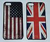 Чехлы для iPhone 5 5S с флагом Великобритании и США