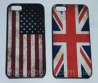 Чехлы для iPhone 5 5S с флагом Великобритании и США, фото 1