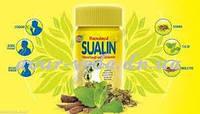 Суалин Sualin, таблетки рассасывающие от боли в горле, от кашля, Индия, 4 шт, фото 1
