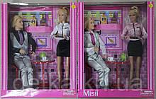 Кукла DEFA 30см 8229 с парнем