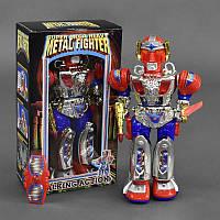 Робот 99001 (24) музыкальный, светится, ходит, с оружием, в кор-ке