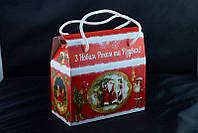 Сладкий новогодний подарок из конфет Саквояж Фрукты&Орехи, вес 300 гр