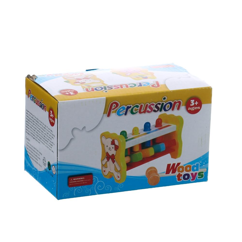5298 Деревянные игрушка стучалка