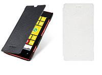 Чехол для Nokia Lumia 1020 - Melkco Book leather case, кожаный, разные цвета