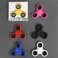 Спиннер 555-801 (240) 6 цветов, подшипник, металлические кольца