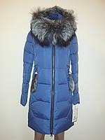 Куртка женская зима с мехом 17-087, фото 1