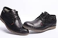 Ботинки кожаные мужские Levis Б 53-01