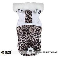 """Куртка, шубка """"Королевский леопард"""" для собак Is Pet. Одежда для собак"""