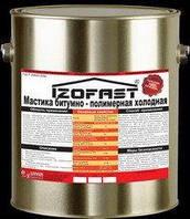 IZOFAST Мастика битумно-полимерная (фундамент), 3кг