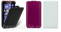 Чехол для Nokia Lumia 620 - Melkco Jacka, кожаный, разные цвета